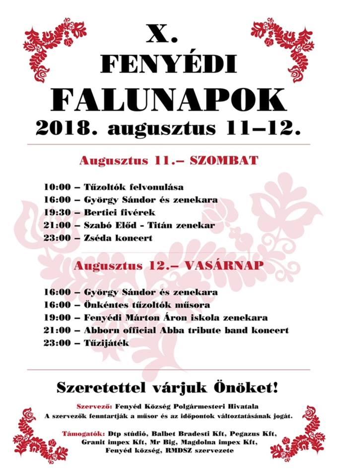 Falunapok 2018